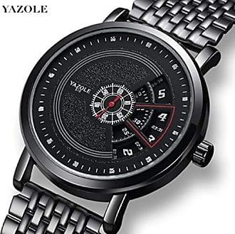 Yazole Relógio Yazole Aço inoxidável À Prova D Água (510)