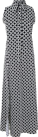Amir Slama sleeveless diamond shirt dress - Schwarz