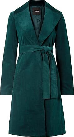 Theory Cotton-blend Corduroy Coat - Forest green