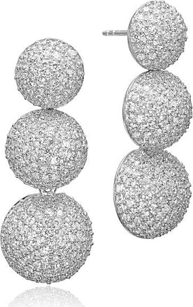 Sif Jakobs Jewellery Ohrringe Comacchio Lungo mit weißen Zirkonia