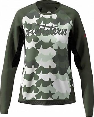 Zimtstern Womens Techzonez Shirt L/S Maglietta da ciclismo Donna   grigio/nero
