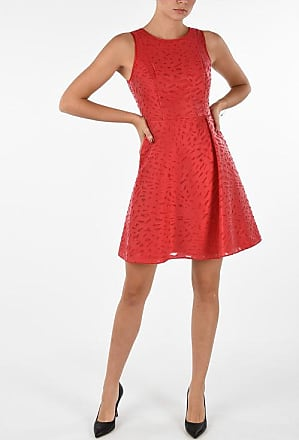 Armani EMPORIO Embroidered Pouf Dress Größe 38
