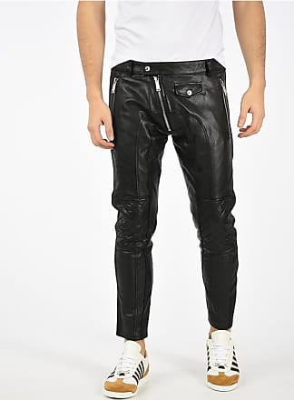 Dsquared2 Leather Biker Pants size 50