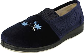 Padders Womens Michelle Low-Top Slippers, Blue (Navy 24), 5 (38 EU)