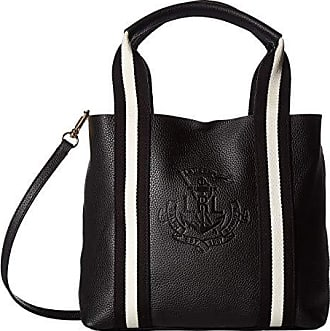 c30b92f6798 Ralph Lauren Huntley Harper 27 Small Tote (Black) Handbags