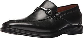 Florsheim Mens HOLTYN BIT Slip Dress Shoe Loafer, Black, 9.5 Wide
