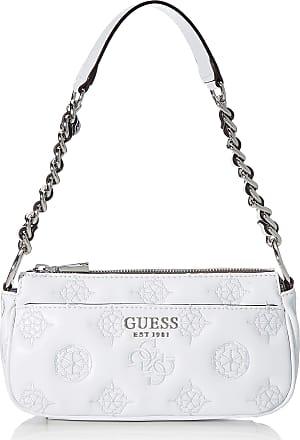Guess Chic Shoulder Bag, Handbag Woman, White, UNI