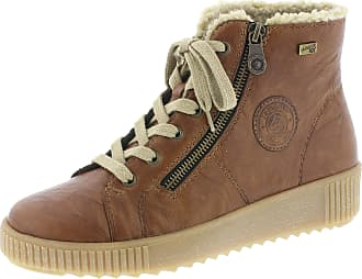 Remonte Womens Ottawa Waterproof Lace-Up Ankle Boots R7980-22 6.5 UK / 40 EU Tan