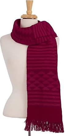 Novica Cotton scarf, Mexican Maiden