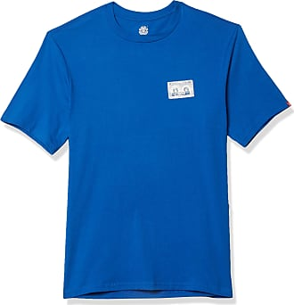 Element Mens Tapes Short Sleeve TEE T-Shirt, Nautical Blue, XL