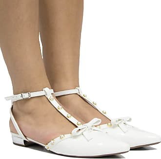 Zariff Sapatilha de Noivas Zariff Shoes Verniz Laço