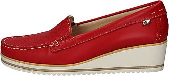 Valleverde Loafers Woman Fabric and Leather 11216 Red or Blue or Beige. A comfortable footwear suitable for all occasions. Spring Summer 2020 Red Size: 7 UK