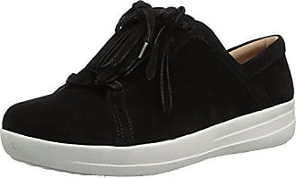 a83d899cb22321 FitFlop Womens F-Sporty II LACE UP Fringe Sneakers