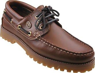 Dockers by Gerli moccasins boat shoes - black, cafe or deer - for men and women, shoe size: (UK 8); colour: natural