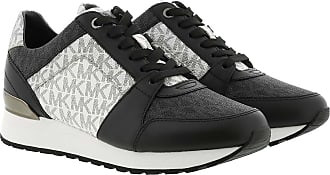 Michael Kors Billie Trainer Sneaker Black/Optic White