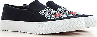 Kenzo Slip on Sneakers for Men On Sale, Blu Navy, Fabric, 2019, 10.5 6.5 7 8 9 9.5