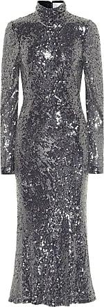 Galvan Legato sequined midi dress