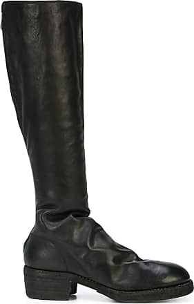 Guidi knee length boots - Preto