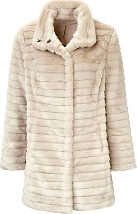 Uta Raasch Jacket made of faux fur Uta Raasch white
