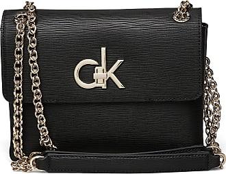Calvin Klein Re-Lock Conv Crossbo Bags Small Shoulder Bags - Crossbody Bags Svart Calvin Klein