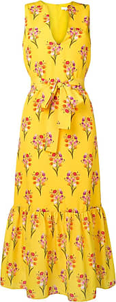 Borgo De Nor floral print dress - Amarelo