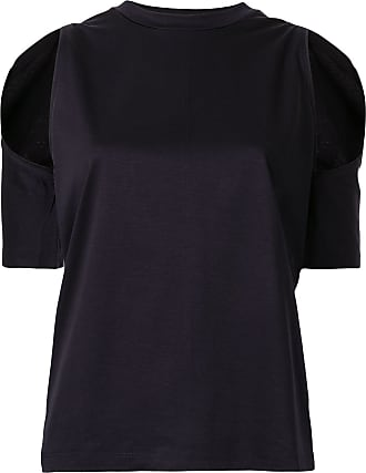 Dion Lee contour cut-out T-shirt - Black
