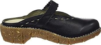 El Naturalista S.A Ng96 Soft Grain Yggdrasil, Womens Clogs, Black, 6 UK (39 EU)