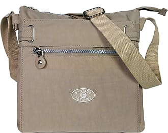 GFM Womens Nylon Waterproof Cross Body Shoulder Bag (JY)(19101-S3-KH)