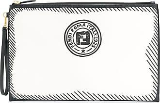 Fendi Joshua Vides clutch bag - Branco