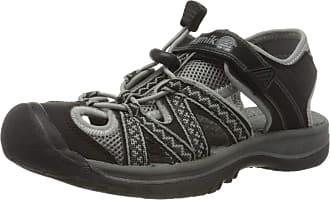 kamik Womens Islander2 Closed Toe Sandals, Black (Black Charcoal BCH), 9 UK