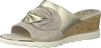 Marco Tozzi Sandsend Womens Wedge Heel Sandals 5 UK 447. Dune MET Combi