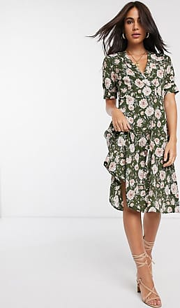 Vila floral tea dress-Multi