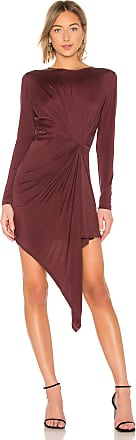 Young Fabulous & Broke Yumi Dress in Burgundy
