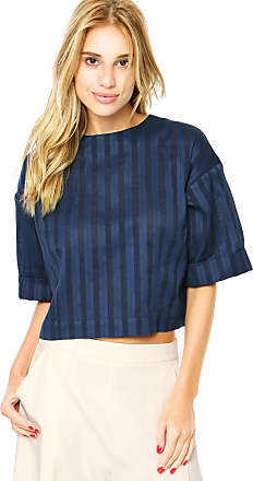 Finery Blusa Finery London Canvey Striped Azul