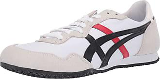 Onitsuka Tiger Unisex-Adult Serrano Shoes, 11 UK, White/Black
