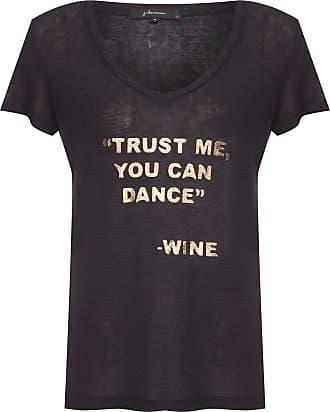 J. Chermann Camiseta Trust Me - Preto
