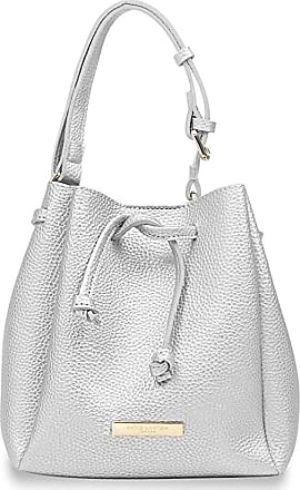 Katie Loxton Mini Chloe Bucket Bag Metallic Silver