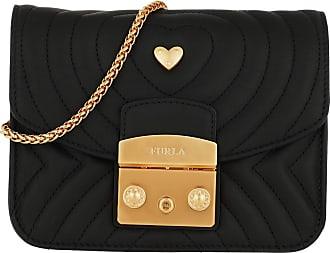 2147fec8b9ec5 Furla Metropolis Rea Mini Crossbody Bag Onyx Umhängetasche schwarz