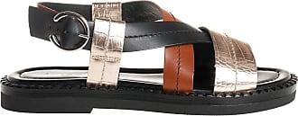 Janet & Janet sandalo basso fasce, 36 / nero