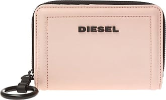 Diesel Leather Wallet With Logo Womens Pink