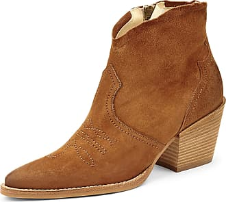 Paul Green 9666 Womens Ankle Boots Brown Size: 8.5 UK