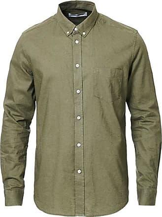 Samsøe & Samsøe Liam Linen Shirt Deep Green