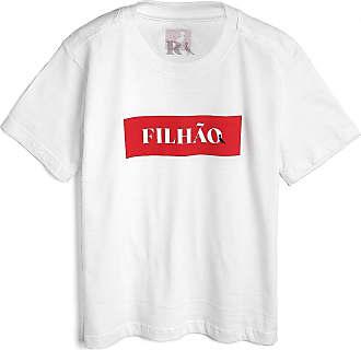 Reserva Mini Camiseta Reserva Mini Infantil Filhão Branca