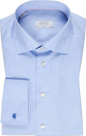 Eton Designerhemd mit Umschlagmanschette, Slim Fit von Eton in Blau für Herren