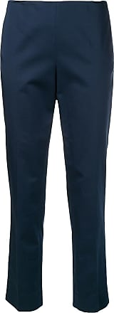 Incentive! Cashmere creased tapered trousers - Azul