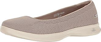 Skechers Performance Womens Go Step Lite-Solace Walking Shoe, Taupe, 9 M US