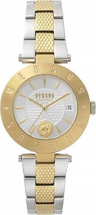 Acotis Limited Versus Watches Ladies Stainless Steel Dressy 3 Hands Quartz White Watc