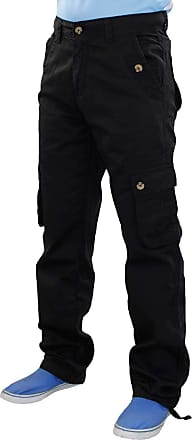 True Face Mens Solo Cargo Trouser Black 40R