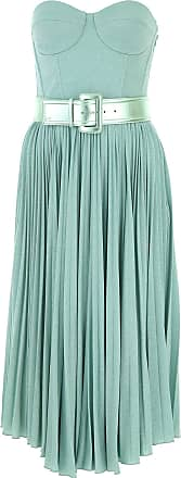 Elisabetta Franchi Dress for Women, Evening Cocktail Party On Sale, Turquoise, viscosa, 2017, 6