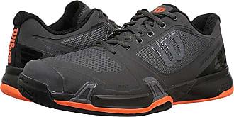 84b497cdc956 Wilson Rush Pro 2.5 (Magnet Black Shocking Orange) Mens Tennis Shoes